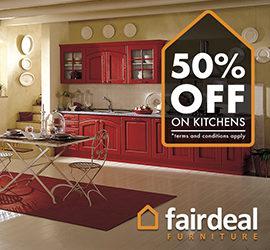 50% OFF On Kitchens