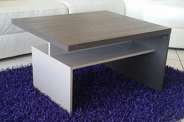 Coffee Table Cube S2 Grey