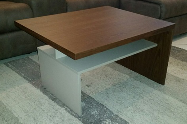 Coffee Table Cube S2 Walnut